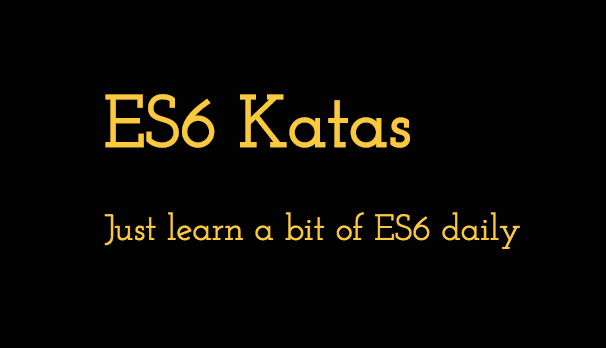 Learn ECMAScript 6 (in a different way)